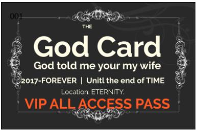 TheGodCard